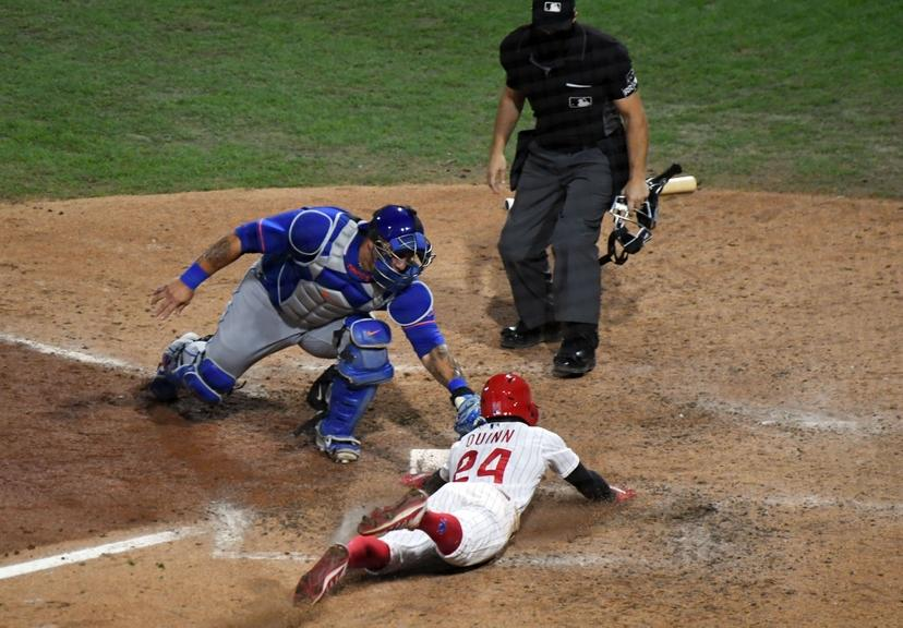 Wilson Ramos misses tag in loss to Phillies