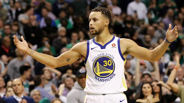 Stephen Curry will be re-evaluated in three weeks after suffering a Grade 2 sprain of his left MCL.