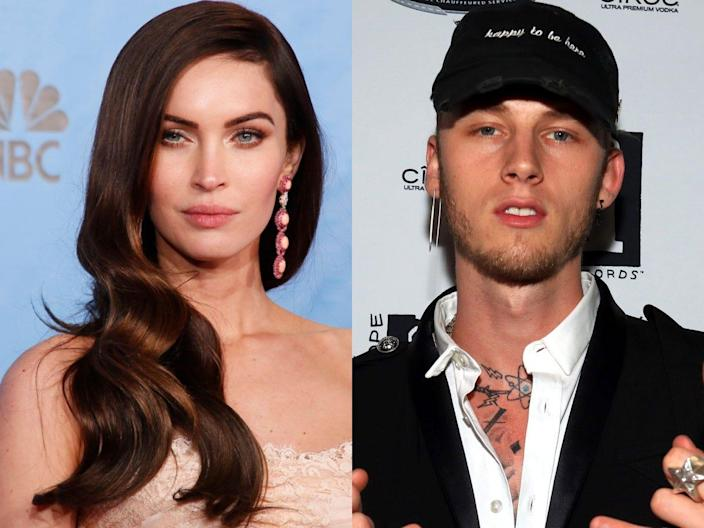 """Megan Fox and Machine Gun Kelly are costars in """"Midnight in the Switchgrass."""""""