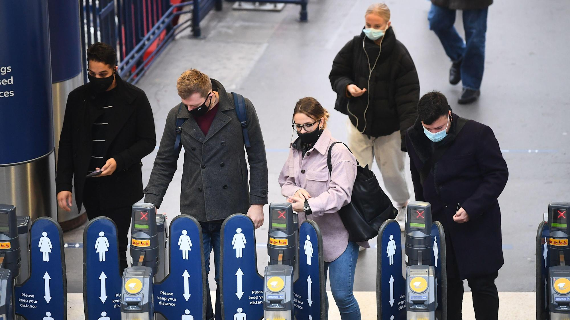 No train operators or major bus and coach firms will require masks in England