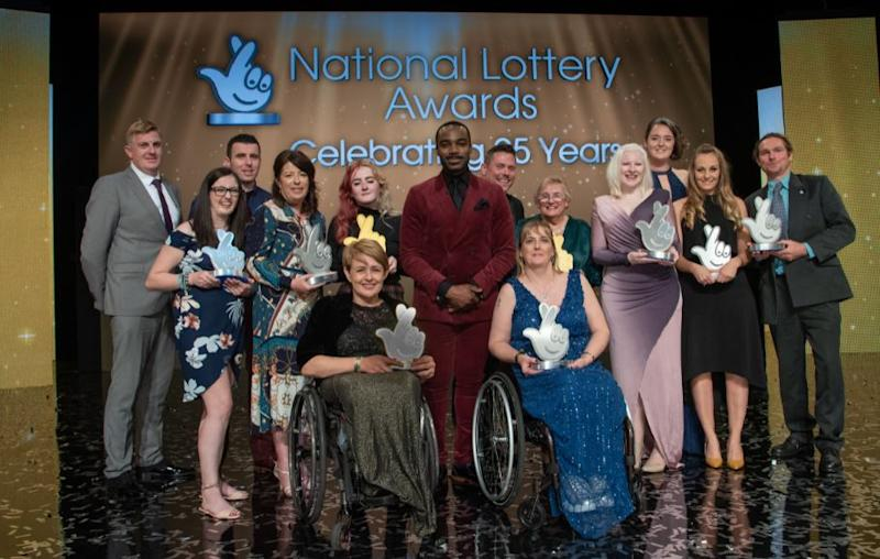 The National Lottery Awards recognises Britain's community champions with a £3,000 prize for category winners (picture via Storybeat)