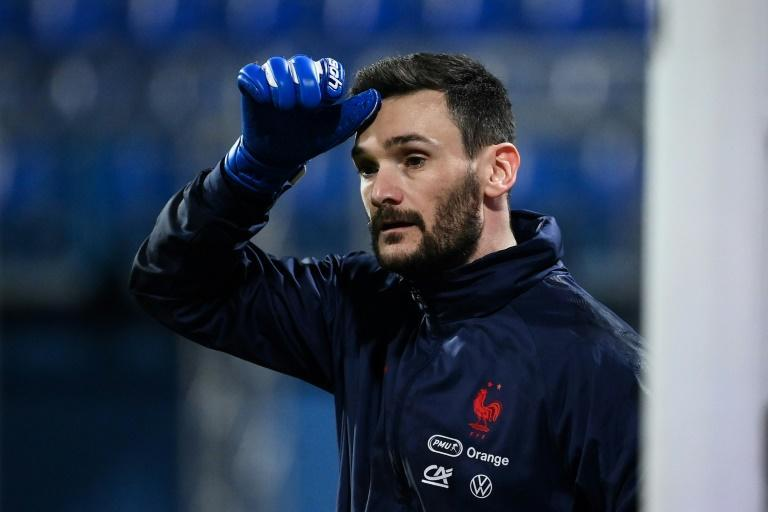 Hugo Lloris won his 123rd cap for France to match Thierry Henry's tally