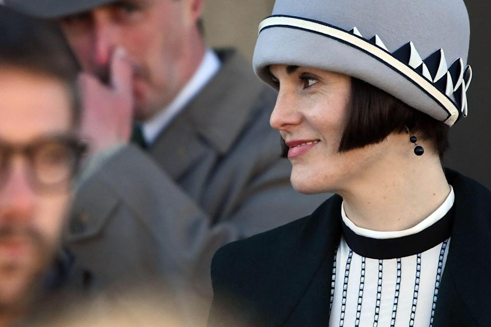 """<p>It's official: <a href=""""https://www.townandcountrymag.com/leisure/arts-and-culture/a22139335/downton-abbey-movie-news/"""" rel=""""nofollow noopener"""" target=""""_blank"""" data-ylk=""""slk:Downton Abbey is coming back"""" class=""""link rapid-noclick-resp""""><em>Downton Abbey </em>is coming back</a>. But fans of the long-running Masterpiece PBS series still have a short wait ahead of them; the movie isn't slated to premiere in the U.S. until September 20. But hopefully some photos from set of Lady Mary, Lord Grantham, and even <a href=""""https://www.townandcountrymag.com/leisure/arts-and-culture/a23480497/maggie-smith-downton-abbey-movie-set-photos/"""" rel=""""nofollow noopener"""" target=""""_blank"""" data-ylk=""""slk:the Dowager Countess"""" class=""""link rapid-noclick-resp"""">the Dowager Countess</a> will help to pass the time. Read on for a behind-the-scenes look at the new film.</p>"""