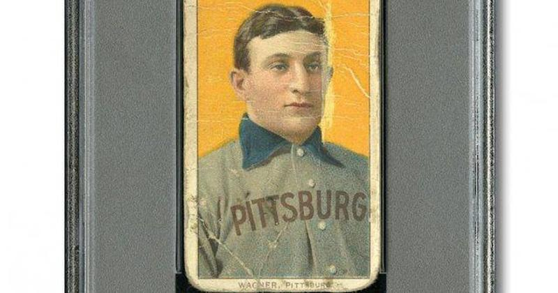 Rare 1909 Honus Wagner Baseball Card Fetches 12 Million In Private