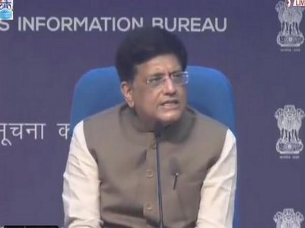 Union Minister Piyush Goyal at the briefing on decisions of union cabinet (Photo/PIB)