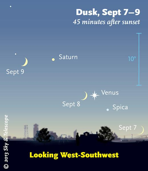 Venus Near Moon In Dramatic Sky Show Tonight: How to See It