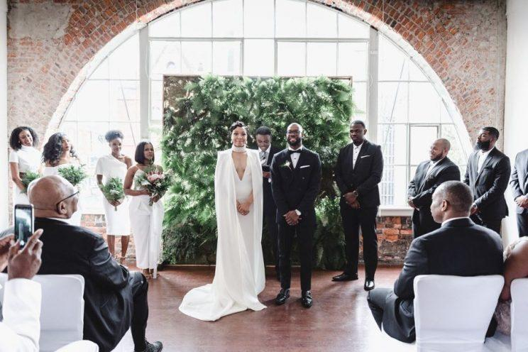 The Bria Shelton and Eric Brown wedding.