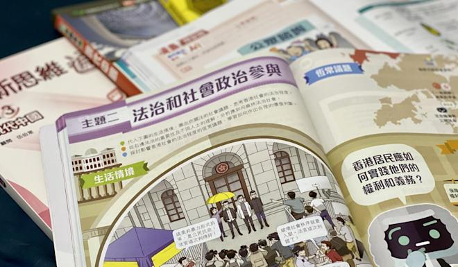Liberal studies textbooks from six publishers have undergone voluntary vetting by the Education Bureau this year. Photo: Chan Ho-him