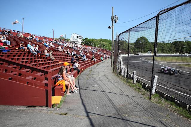 New London Waterford Speedbowl has hosted 22 Modified Series races. (Getty)