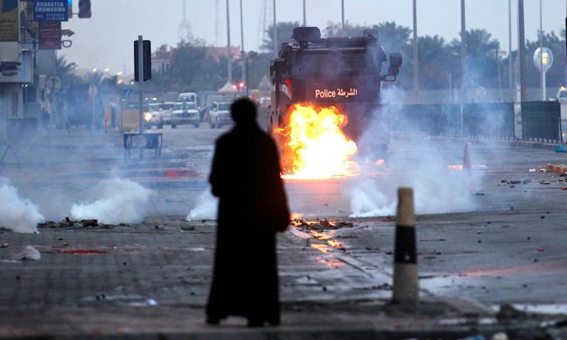 Violence in Bahrain in February 2017