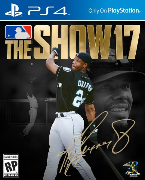 b42702a440 Ken Griffey Jr. swings his way onto the cover of 'MLB The Show 17'