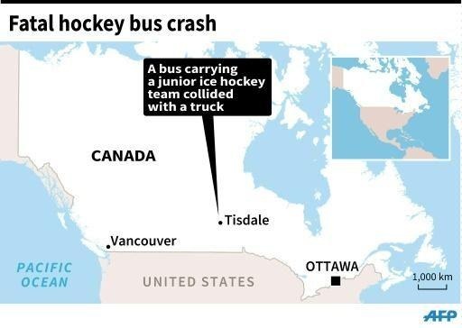 Canada mourns 15 killed in hockey bus crash