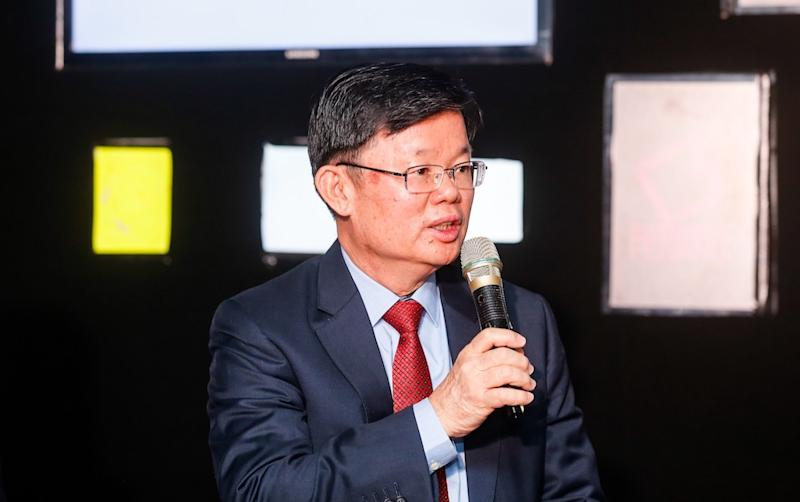 Penang Chief Minister Chow Kon Yeow speaks during the launch of Penang Tech Fest in George Town June 24, 2019. — Picture by Sayuti Zainudin