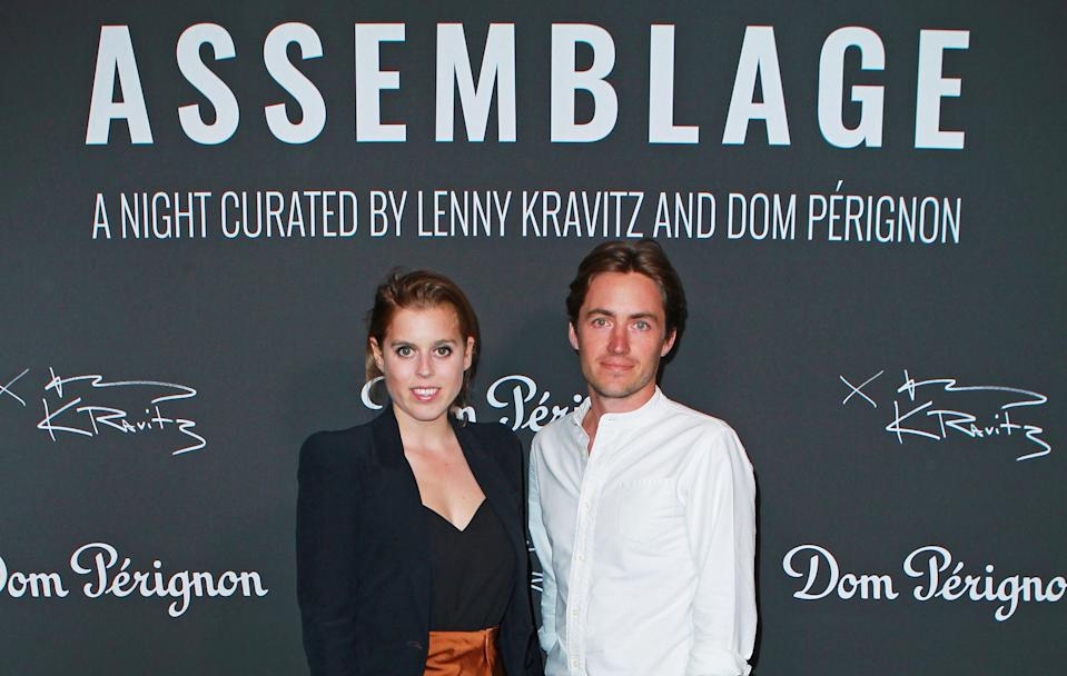 Princess Beatrice with Edoardo Mapelli Mozzi who she has married in a secret ceremony. (Getty Images)