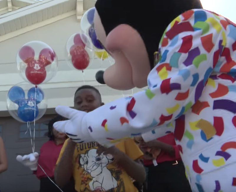 Jermaine Bell's good deed is being rewarded by Disney. (Photo: Via Disney)