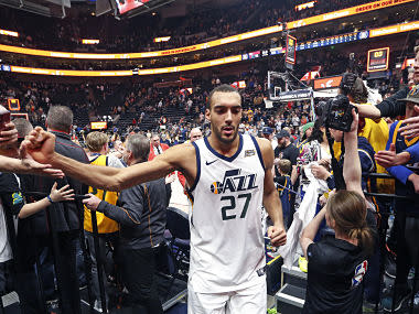 NBA: Utah Jazz center Rudy Gobert reduced to tears after being snubbed for All-Star Game despite fruitful campaign