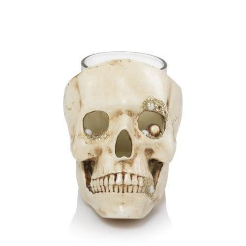 <p>Is it just us or does this <span>Skull Votive/Tea Light Candle Holder</span> ($15) look a little too real?</p>