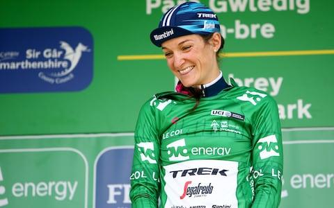 <span>Lizzie Deignan has accused La Course by Le Tour of 'stagnating'</span> <span>Credit: Getty Images </span>
