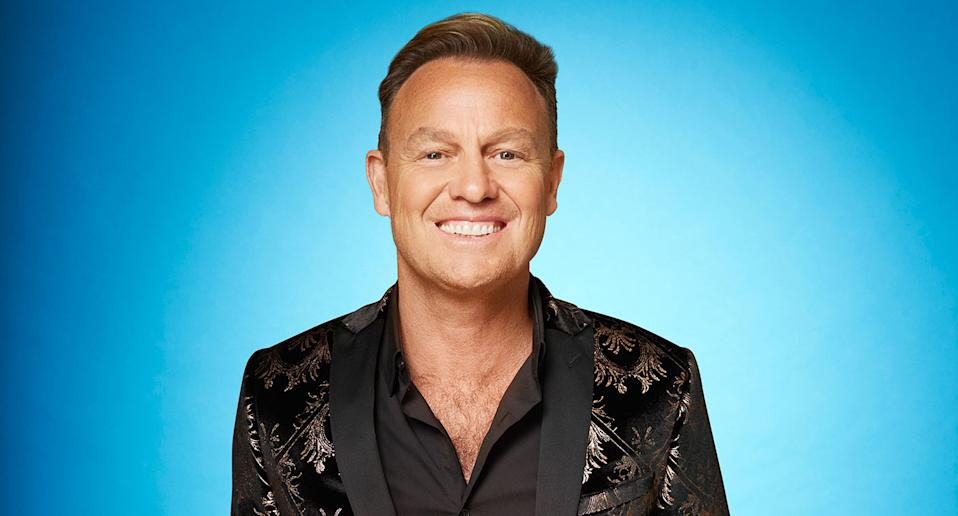 Jason Donovan. Dancing On Ice 2021 (ITV)