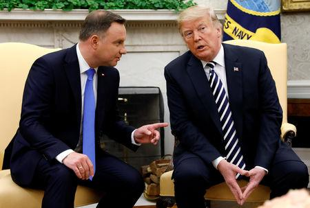 Fort Trump? Polish leader dangles offer to US president