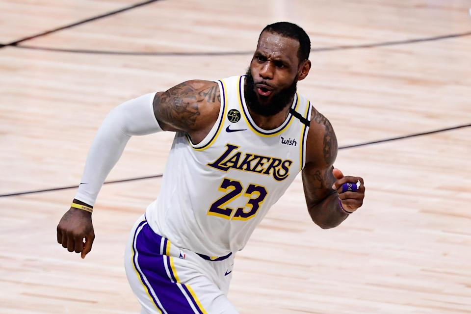 Los Angeles Lakers star LeBron James