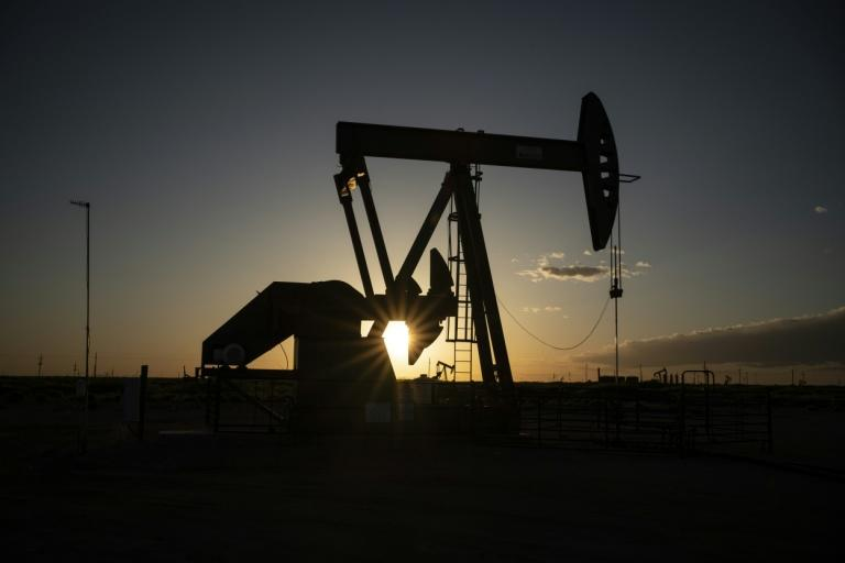 Oil and gas production posted its largest-ever decline in the Federal Reserve's April industrial production survey (AFP Photo/Paul Ratje)