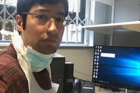 Dr Farhaan Shabir has set up a fundraiser for personal protective equipment for NHS staff. (Farhaan Shabir/GoFundMe)