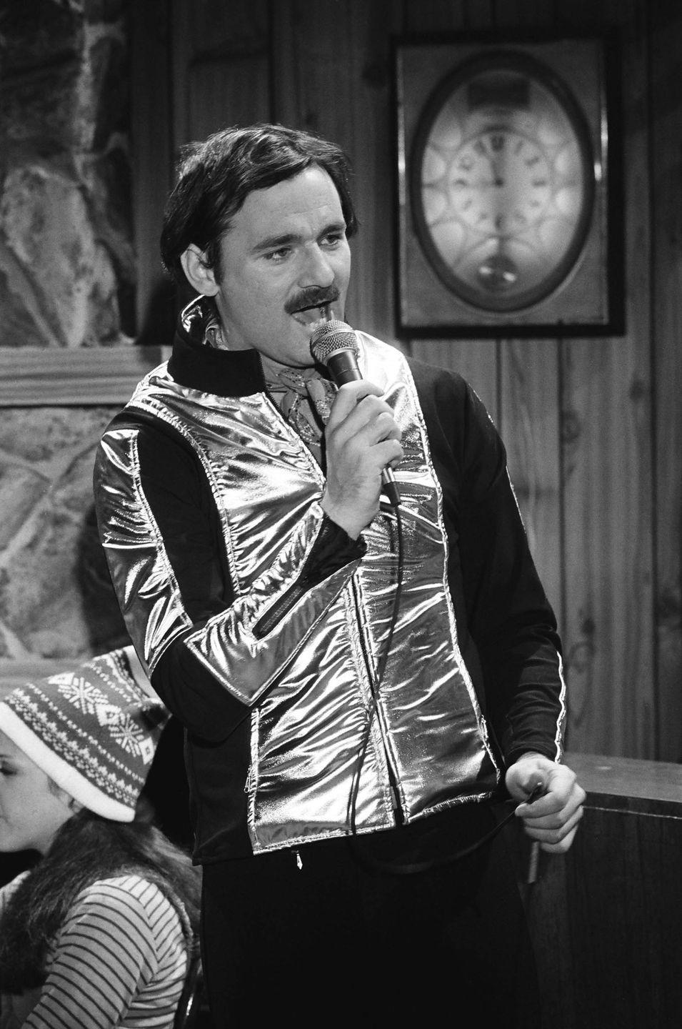 <p>Bill Murray as Nick during the 'Nick Winters' skit on January 28, 1978 in <em>SNL</em>.</p>