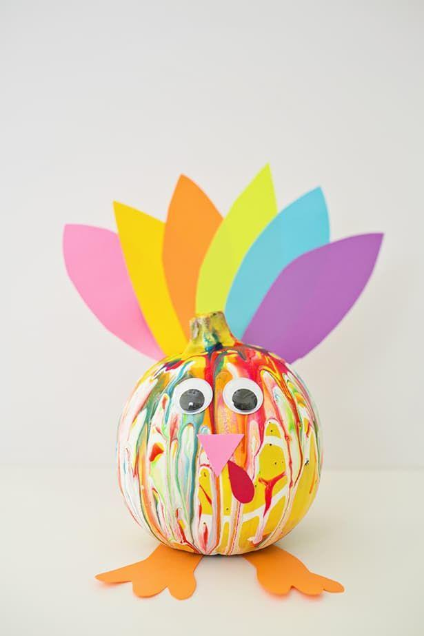 "<p>Turning your leftover Halloween pumpkins into colorful Thanksgiving turkeys using colorful paper and squeeze paint.</p><p><strong>Get the tutorial at <a href=""https://www.hellowonderful.co/post/COLORFUL-SQUEEZE-PAINT-PUMPKIN-TURKEY/"" rel=""nofollow noopener"" target=""_blank"" data-ylk=""slk:Hello, Wonderful"" class=""link rapid-noclick-resp"">Hello, Wonderful</a>. </strong></p><p><a class=""link rapid-noclick-resp"" href=""https://www.amazon.com/SunWorks-Construction-9-Inches-12-Inches-100-Count/dp/B0017OJKLI/?tag=syn-yahoo-20&ascsubtag=%5Bartid%7C10050.g.22626432%5Bsrc%7Cyahoo-us"" rel=""nofollow noopener"" target=""_blank"" data-ylk=""slk:SHOP CONSTRUCTION PAPER"">SHOP CONSTRUCTION PAPER</a></p>"