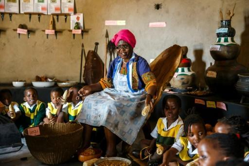 Munongi, 80, used savings from her teaching career to build the homestead as a repository for indigenous knowledge and the country's rich cultural heritage