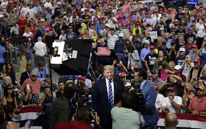 Donald Trump's Own Crowd Expertly Trolled Him at His Rally Last Night