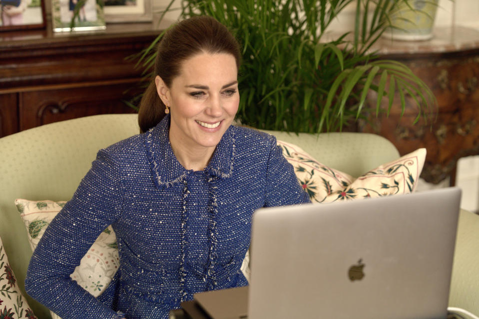 Duchess of Cambridge spoke to teachers during Children's Mental Health Week. (Kensington Palace)