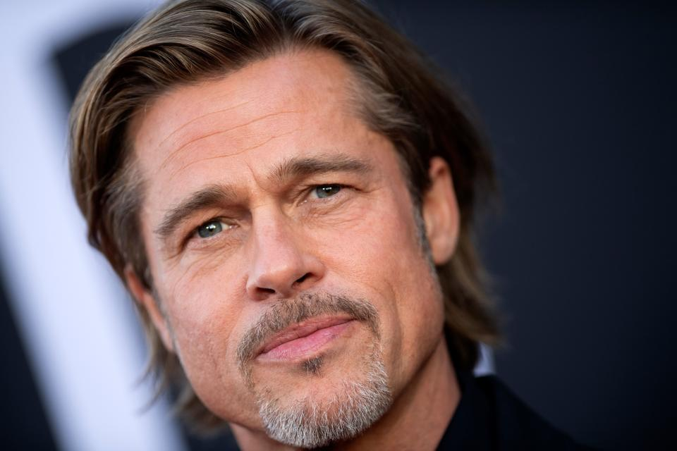 """Brad Pitt says he spent the '90s """"hiding out and smoking pot."""" (Photo: Getty Images)"""