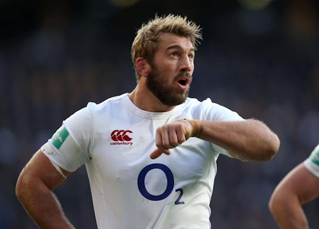 <span>Robshaw played a pivotal role in England's unbeaten 2016</span> <span>Credit: Leicester/BPI/REX/Shutterstock </span>