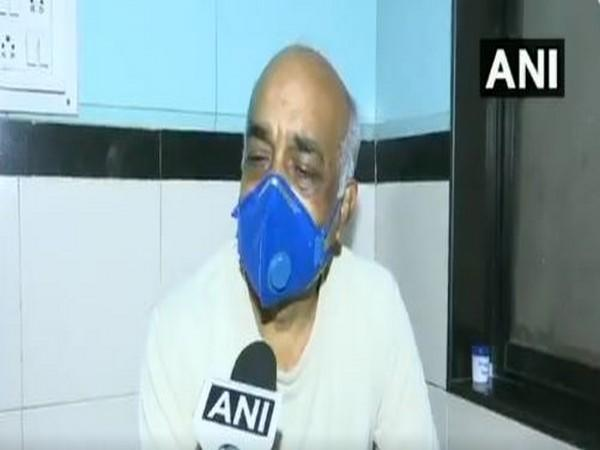 Madan Sharma, retired Navy officer speaks to ANI in Mumbai on Saturday. [Photo/ANI]