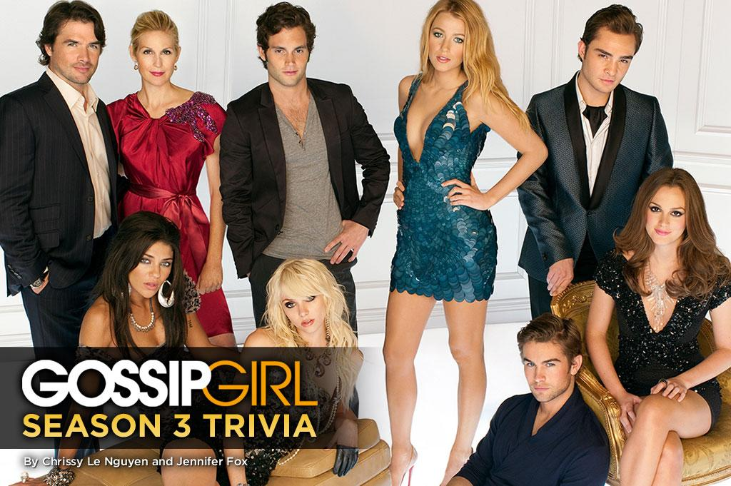 "<a href=""/gossip-girl/show/40313"">""Gossip Girl""</a> finally returns this week after a long three-month break from its third season. Are you up to speed with what's happened so far? Take a crack at this trivia quiz to see just how much you've been paying attention. Be sure to keep track of your score as you go!"