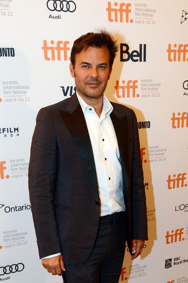 "TORONTO, ON - SEPTEMBER 10:  Director Francois Ozon attends the ""In The House"" Premiere during the 2012 Toronto International Film Festival at The Elgin on September 10, 2012 in Toronto, Canada.  (Photo by Aaron Harris/Getty Images)"