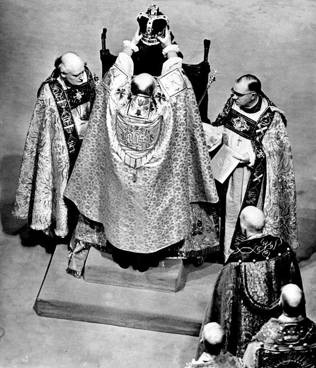 The crowning