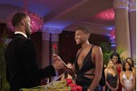"<p>If you've ever wondered how the hell the Bachelor/ette remembers all their contestants' names during the rose ceremonies, it's shockingly NOT because producers are feeding them info through an ear piece.</p><p>""We actually will stop so they can memorize the names themselves,"" Chris told <em><a href=""https://www.etonline.com/chris-harrison-spills-bts-bachelor-secrets-hidden-cameras-limo-exits-and-fantasy-suites-exclusive"" rel=""nofollow noopener"" target=""_blank"" data-ylk=""slk:ET"" class=""link rapid-noclick-resp"">ET</a></em>. ""Because we have always wanted them to make the lists themselves and say it themselves. We don't want to be prompting them in any way.""</p>"