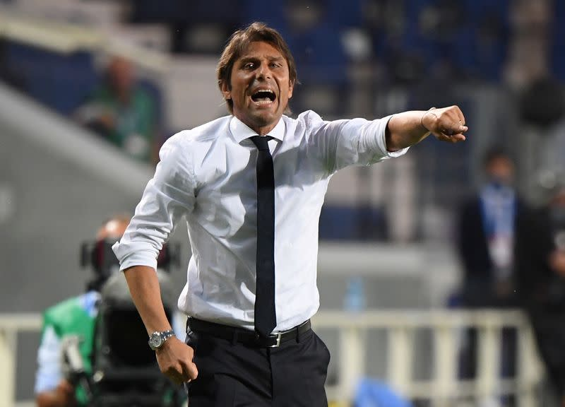 Inter coach Conte wanted more support from the club