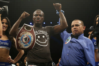 Peter Quillin surrendered the WBO title in 2014. (Getty)