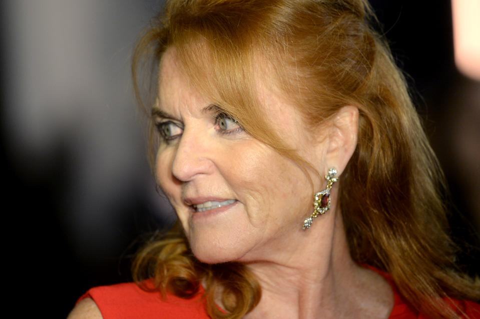 LONDON, ENGLAND - OCTOBER 01: Sarah Ferguson attends the BFI Luminous Fundraising Gala at The Roundhouse on October 01, 2019 in London, England. (Photo by Dave J Hogan/Getty Images)