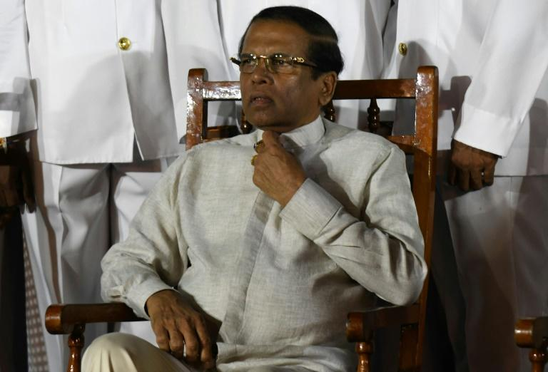 Sri Lankan President Maithripala Sirisena, who is trying to reintroduce the  death penalty for serious drug crimes, says the Easter Sunday suicide attacks were the work of international narcotic syndicates despite earlier blaming Islamist militants