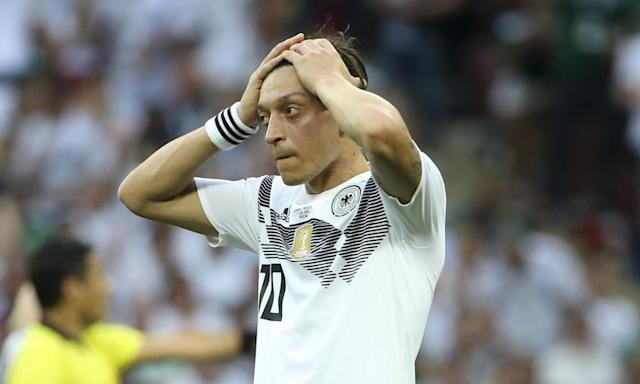 Germany in crisis as Mesut Özil's 'Bling-bling gang' take on Bavarians