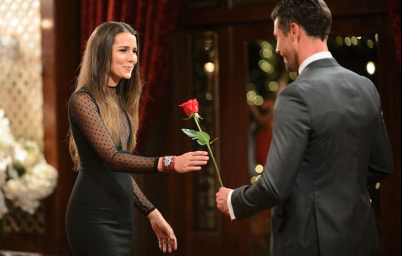 Heather Maltman and Sam Wood on The Bachelor Australia