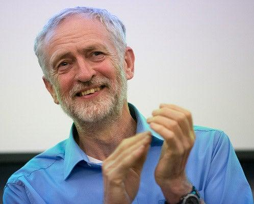 Former Labour leader Jeremy Corbyn was photographed at a dinner party with eight other people, breaking the 'Rule of Six' (Getty)