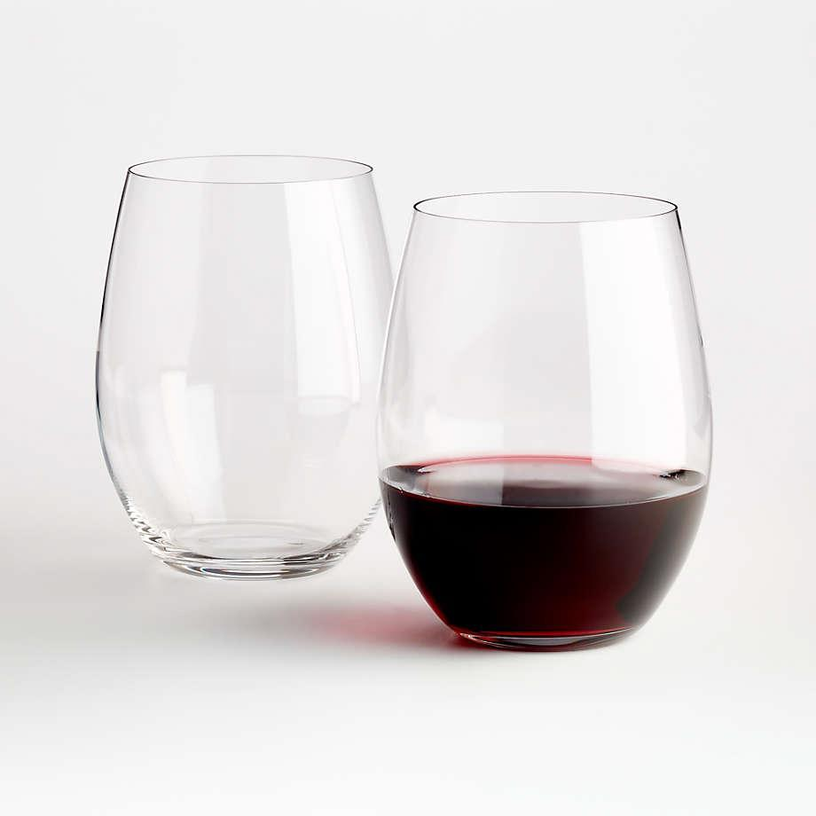 """<p>Designed for merlot, <a href=""""https://www.marthastewart.com/267844/cabernet-sauvignon"""" rel=""""nofollow noopener"""" target=""""_blank"""" data-ylk=""""slk:cabernet"""" class=""""link rapid-noclick-resp"""">cabernet</a>, and other complex reds, these German-made stemless wine glasses make every pour feel festive. They come packaged in a box of two, ready for gifting. </p> <p><strong><em>Buy Now:</em></strong> <em>Riedel O Stemless Cabernet/Merlot Wine Glasses, </em><em>$29.90 for two, <a href=""""https://www.anrdoezrs.net/links/9104911/type/dlg/sid/MSL15GiftIdeasfortheWineLoversinYourLifeameyerChrGal7993256202010I/https://www.crateandbarrel.com/riedel-o-stemless-cabernet-merlot-wine-glasses-set-of-2/s540839"""" rel=""""nofollow noopener"""" target=""""_blank"""" data-ylk=""""slk:crateandbarrel.com"""" class=""""link rapid-noclick-resp"""">crateandbarrel.com</a></em><em>.</em></p>"""