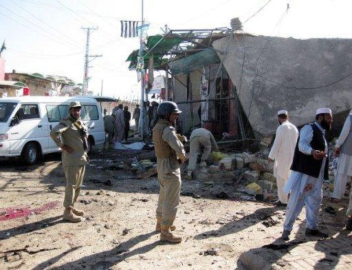 The Taliban claimed responsibility for the attack in Khar