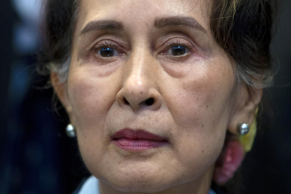 Myanmar's leader, Aung San Suu Kyi was ousted by the military in February this year. Source: AP Photo