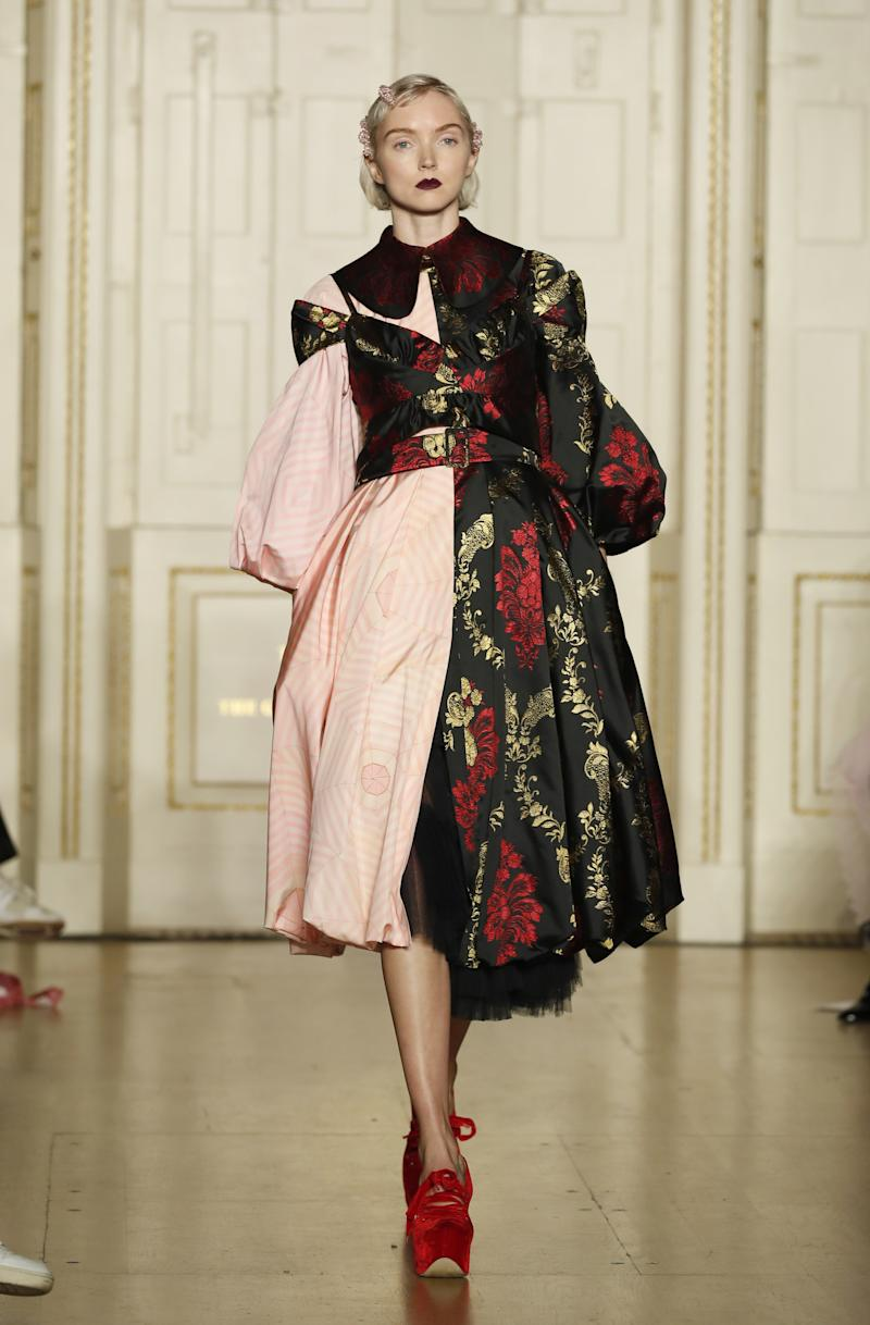 It's been more than five years since industry vet Lily Cole returned to the runway for Simone Rocha in February 2019.